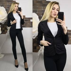 Пиджак черные Х7476