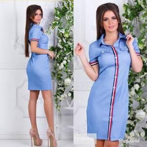 Платье короткое современное Ч3781