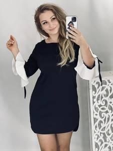Платье короткое современное А48406