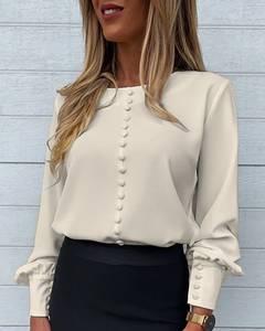 Блуза с длинным рукавом А53569