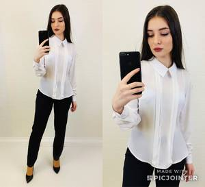 Блуза с длинным рукавом Х7314