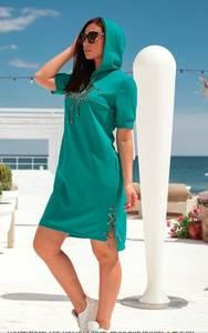 Платье короткое летнее А48004