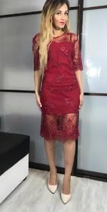 Платье короткое вечернее современное Х3428
