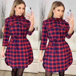 Платье короткое повседневное Х5097