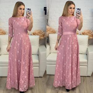 Платье длинное нарядное Х8227