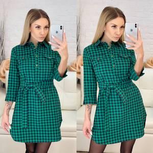 Платье короткое повседневное Х5098