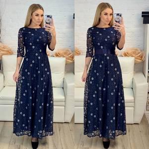 Платье длинное нарядное Х8231