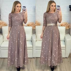 Платье длинное нарядное Х8233