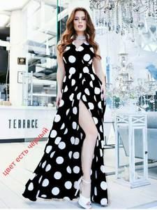 Платье длинное нарядное А35387