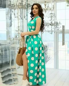 Платье длинное нарядное А35388
