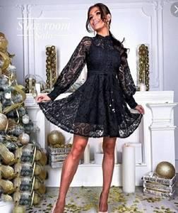 Платье короткое нарядное А35378