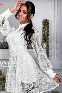 Платье короткое нарядное А35379