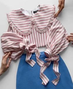 Блуза с длинным рукавом А35398