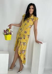 Платье длинное летнее А50406