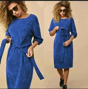 Платье короткое однотонное А24231