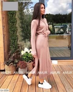 Платье длинное с длинными рукавами А54035