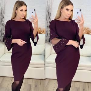 Платье короткое нарядное облегающее Х3905