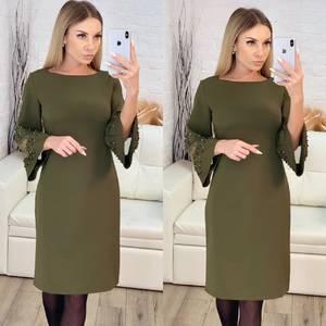 Платье короткое нарядное современное Х3906