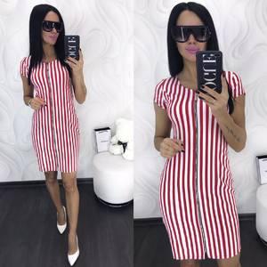 Платье короткое облегающее Х8635