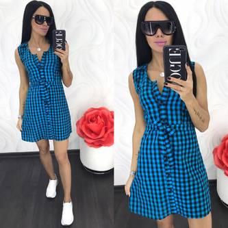 Платье короткое летнее Ц8636