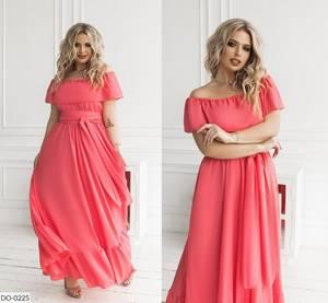 Платье длинное нарядное А47749