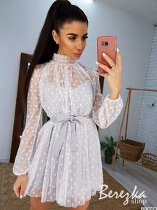 Платье короткое современное А59441