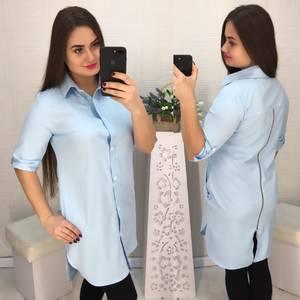 Рубашка однотонная Х5707