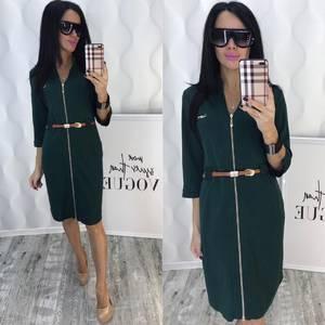 Платье короткое однотонное современное Ф6565