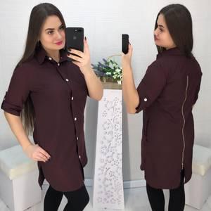 Рубашка однотонная Х5708