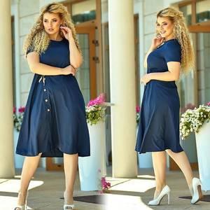 Платье короткое летнее Ч4271