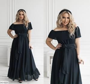 Платье длинное нарядное А47751