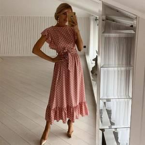 Платье длинное летнее А38158