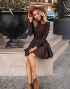 Платье короткое элегантное Ш9617