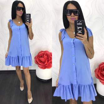 Платье короткое летнее Ц8642