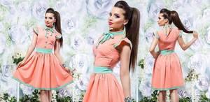Платье короткое нарядное летнее Х8642