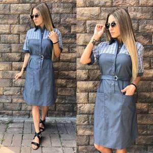 Платье короткое повседневное современное У0811