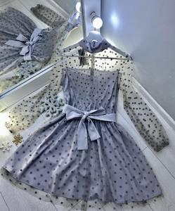 Платье вечернее нарядное с длинным рукавом облегающее Ш9319