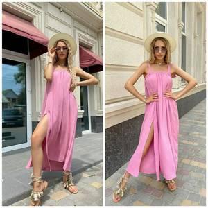 Платье длинное летнее А46625