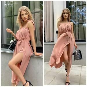 Платье длинное летнее А46627