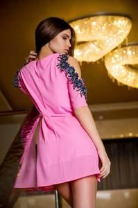 Платье короткое нарядное летнее Х8711