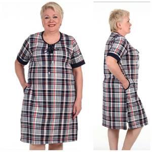 Платье короткое повседневное Ц0257