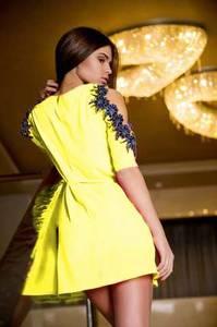 Платье короткое нарядное летнее Х8713
