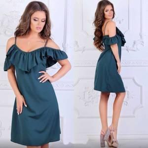 Платье короткое нарядное летнее Х8506