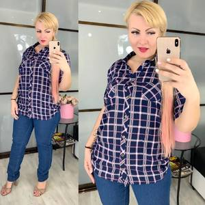 Рубашка с коротким рукавом Ц5255