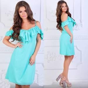 Платье короткое нарядное летнее Х8507