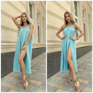 Платье длинное летнее А46624