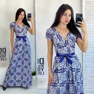 Платье длинное нарядное А50681