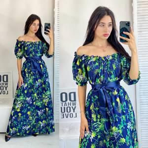 Платье длинное летнее А50684
