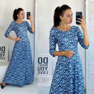 Платье длинное летнее А50688
