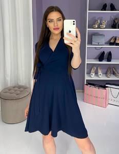 Платье вечернее нарядное с рукавом 3/4 современное Ш9323